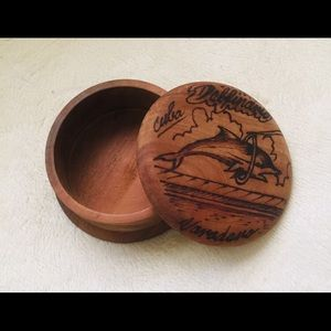 Other - Small Wood Trinket Box.